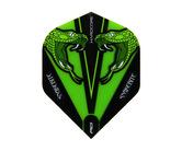 フライト【レッドドラゴン】スネークバイト ピーター・ライトモデル ハードコア トランスペアレント グリーン F6416
