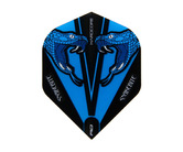 フライト【レッドドラゴン】スネークバイト ピーター・ライトモデル ハードコア トランスペアレント ブルー F6417