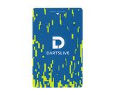 ゲームカード【ダーツライブ】#043 レトロデジタル ブルー&イエロー