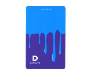 ゲームカード【ダーツライブ】#043 ペンキ ブルー&パープル
