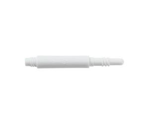 シャフト【8フライト】レギュラー スピン ホワイト 22.5mm