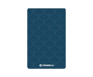 ゲームカード【フェニックス】フェニカ 2019_07 和柄 ブルー
