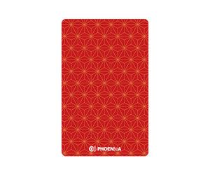 ゲームカード【フェニックス】フェニカ 2019_07 和柄 レッド