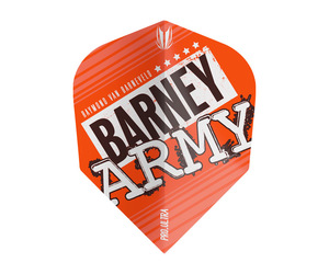 フライト【ターゲット】ヴィジョン ウルトラ BARNEY ARMY シェイプ オレンジ 334270