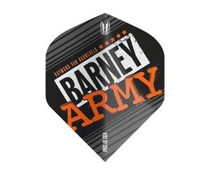 フライト【ターゲット】ヴィジョン ウルトラ BARNEY ARMY スタンダード ブラック 334330