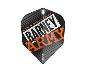 フライト【ターゲット】ヴィジョン ウルトラ BARNEY ARMY TEN-X ブラック 334360