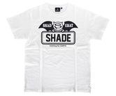 アパレル【シェード】SHADEBAT フェイスロゴTシャツ ホワイト