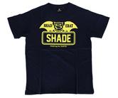 アパレル【シェード】SHADEBAT フェイスロゴTシャツ ネイビー