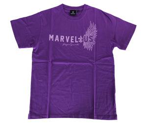 アパレル【シェード】MARVELOUS Tシャツ 江口祐司モデル パープル L