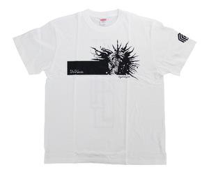 アパレル【マスターストローク】Tシャツ 松本康寿 グリコ ver.3 ホワイト S