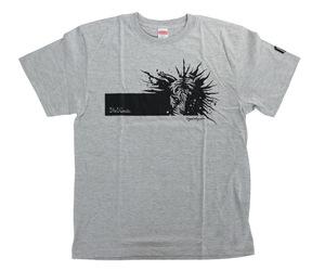 アパレル【マスターストローク】Tシャツ 松本康寿 グリコ ver.3 グレー L