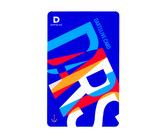 ゲームカード【ダーツライブ】#044 ブルーアートダーツ