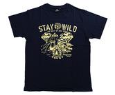 アパレル【シェード】STAY WILD Tシャツ 安食賢一モデル ネイビー
