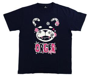 アパレル【シェード】ORGER 2019 Tシャツ 川上真奈モデル ネイビー M