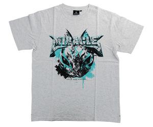 アパレル【シェード】MIRACLE Tシャツ 鈴木未来モデル アッシュグレー S