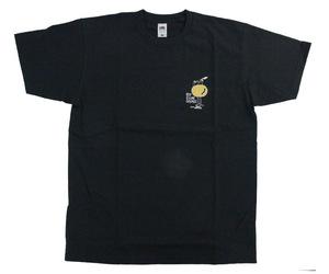アパレル【コスモダーツ】フルーツオブザルームxコスモダーツ Tシャツ ロイ エヒメ オレンジ ブラック XL