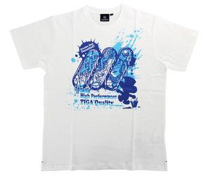 アパレル【ティガ】Tシャツコレクション 2019 ホワイト XXL