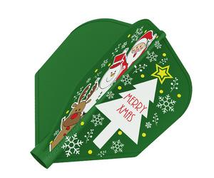 フライト【8フライト】クリスマス フライト シェイプ MIX
