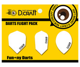 フライト【ディークラフト】DCフライト Aセット (SHAPE/SLIM/TEARDROP)