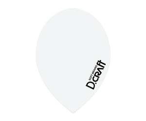 フライト【ディークラフト】DCフライト ティアドロップ ホワイト