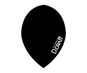 フライト【ディークラフト】DCフライト ティアドロップ ブラック
