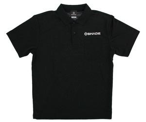 アパレル【シェード】ドライポロシャツ 2020 ブラック XXL