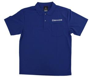アパレル【シェード】ドライポロシャツ 2020 ブルー XXL