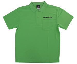 アパレル【シェード】ドライポロシャツ 2020 グリーン XXL