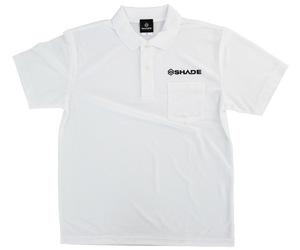 アパレル【シェード】ドライポロシャツ 2020 ホワイト XXL