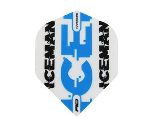 フライト【レッドドラゴン】ガーウェン・プライスモデル ハードコア スタンダード ホワイト&ブルー ロゴ
