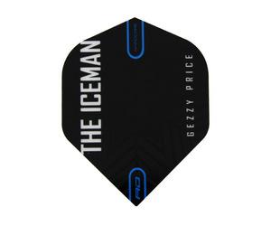 フライト【レッドドラゴン】ガーウェン・プライスモデル ハードコア スタンダード ブラック&グレー スノーフレーク ロゴ