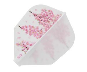 フライト【8フライト】桜吹雪 シェイプ ホワイト