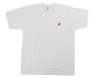 アパレル【コスモダーツ】フルーツオブザルームxコスモダーツ Tシャツ タイリング ホワイト L