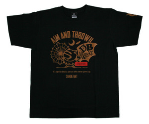 アパレル【シェード】ダーツプラクティス Tシャツ ブラック S