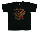 アパレル【シェード】ダーツプラクティス Tシャツ ブラック