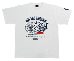 アパレル【シェード】ダーツプラクティス Tシャツ ホワイト S