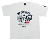 アパレル【シェード】ダーツプラクティス Tシャツ ホワイト