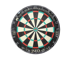 ダーツボード【ダイナスティー】JSFDオフィシャルダーツボード エンブレムキング JSFD【451】