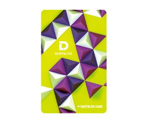 ゲームカード【ダーツライブ】#046 三角錐模様