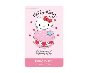 ゲームカード【ダーツライブ】ハローキティ マカロン