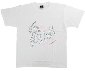 アパレル【シェード】坂口優希恵モデル Tシャツ 2020 ホワイト XXL