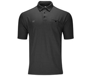 アパレル【ターゲット】フレックスラインシャツ ダークグレー L 151023