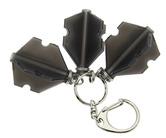 ダーツフライトケース【プテラファクトリー】フライトスロットケース ブラック リング付き