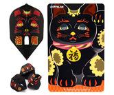 ダーツゲームカード【ダーツライブ】スペシャルパック エルフライト 招き猫 ブラック