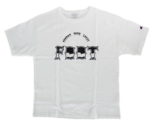 アパレル【フット】サンダーTシャツ/チャンピオンボディ ホワイト M