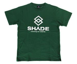 アパレル【シェード】SHADEロゴ Tシャツ グリーン XS