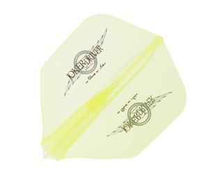 フライト【ジョーカードライバー】零-ZERO- WINGロゴ入り プラクティス シェイプ クリアイエロー