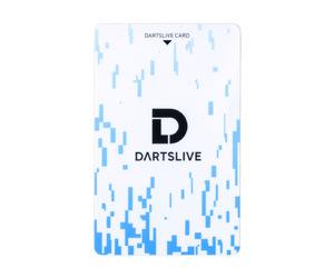 ゲームカード【ダーツライブ】#043 レトロデジタル ホワイト&ブルー