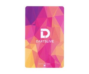 ゲームカード【ダーツライブ】#043 ソリッド ピンク