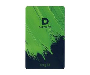 ゲームカード【ダーツライブ】#043 リアルペイント グリーン